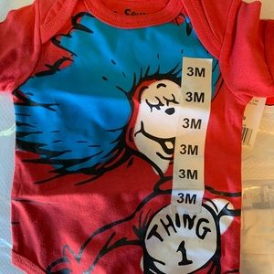 Dr. Seuss Thing 1 Bodysuit